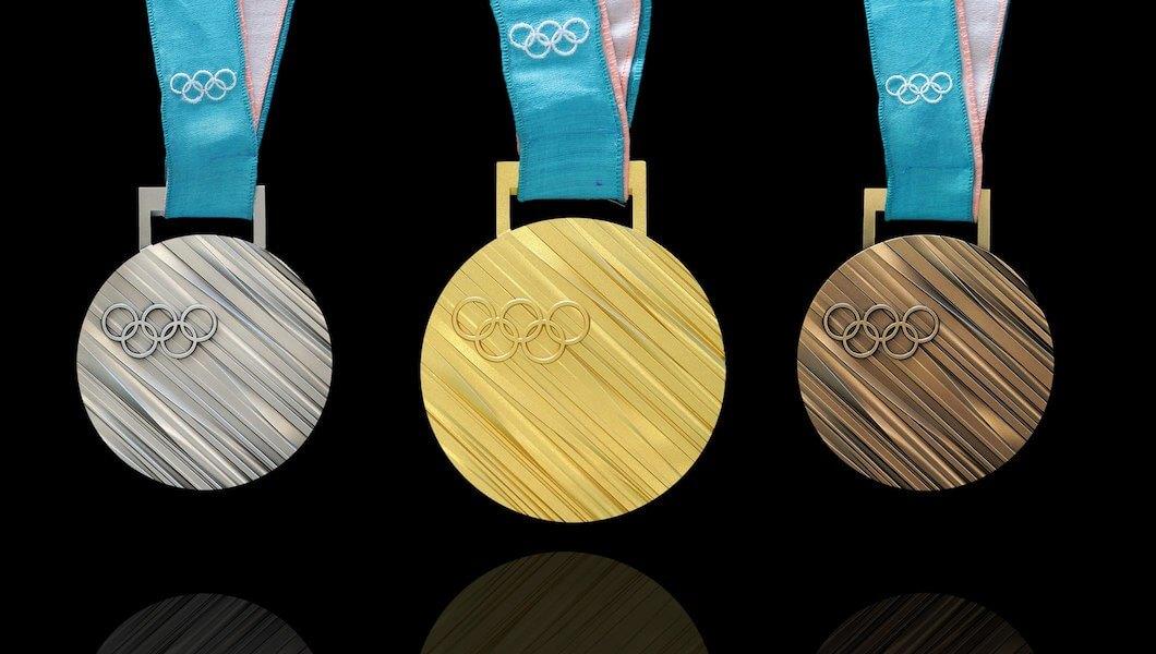 олимпийские медали Пхенчхан 2018 дизайн